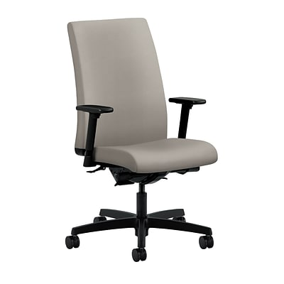 HON® Ignition® Mid-Back Office/Computer Chair, Adjustable Arms, Inertia Shadow Fabric