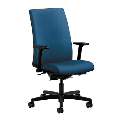 HON® Ignition® Mid-Back Office/Computer Chair, Arms, Regatta