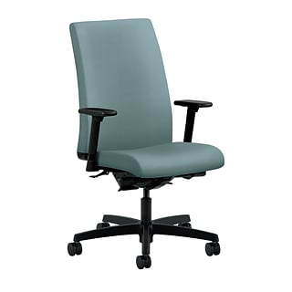 HON® Ignition® Mid-Back Office/Computer Chair,Adjustable Arms, Inertia Surf Fabric