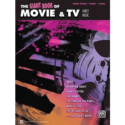 The Giant Book of Movie & TV Sheet Music: Piano/Vocal/Guitar (Giant Sheet Music Collection)