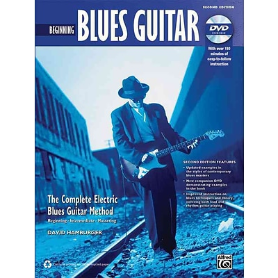 Complete Blues Guitar Method: Beginning Blues Guitar (Book & DVD)