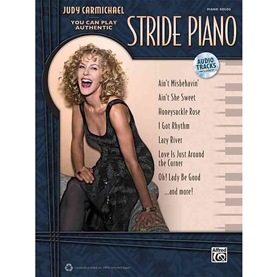 Judy Carmichael -- You Can Play Authentic Stride Piano (Book & CD)