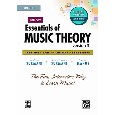 Alfreds Essentials of Music Theory: Version 3.0: Lessons, Ear Training, Assessment: Complete
