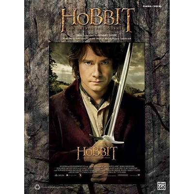 The Hobbit -- An Unexpected Journey: Piano/Vocal