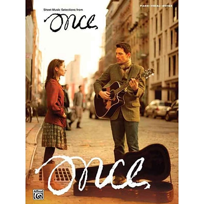 Once -- Sheet Music from the Broadway Musical: Piano/Vocal/Guitar