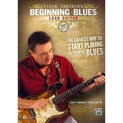 Steve Trovatos Beginning Blues Lead Guitar (Book & DVD)