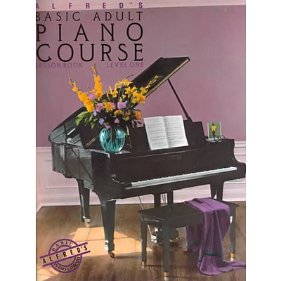 Alfreds Basic Adult Piano Course: Lesson Book, Level One
