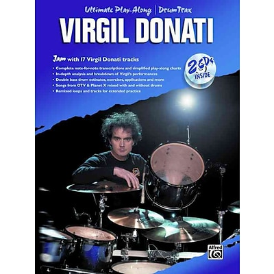 Virgil Donati: Ultimate Play Along Drum Trax (Book & 2 CDs)