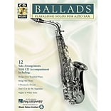 Ballads: Play-Along Solos for Alto Sax by Hal Leonard