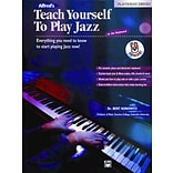 Alfreds Teach Yourself to Play Jazz at the Keyboard by Bert Konowitz