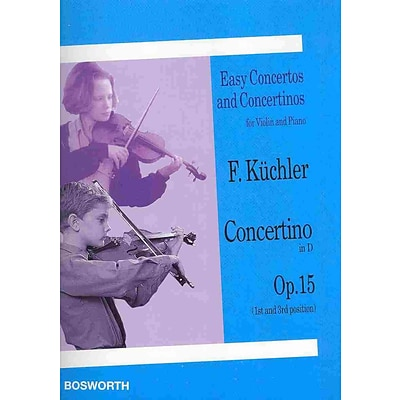 CONCERTINO IN D OP 15 EASY CONCERTOS AND CONCERTINOS FOR VLN AND PNO