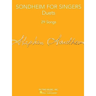 Sondheim for Singers: Duets (29 Songs)