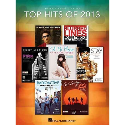 Top Hits of 2013 (Piano/Vocal/Guitar) (Top Hits of Piano Vocal Guitar)