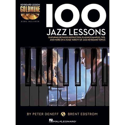 100 Jazz Lessons: Keyboard Lesson Goldmine Series Book/2-CD Pack