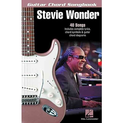 Stevie Wonder - Guitar Chord Songbook (Guitar Chord Songbooks)