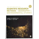 An Introduction to Sci Research Methods in Geo & Env Std by Montello & Sutton
