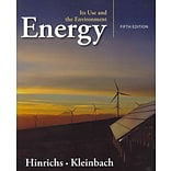 Energy by Roger A. Hinrichs and Merlin H. Kleinbach