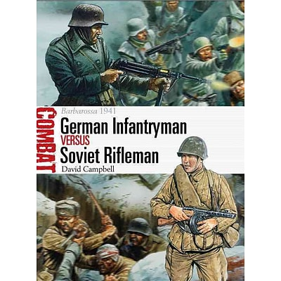 OSPREY PUB CO German Infantryman vs Soviet Rifleman Book