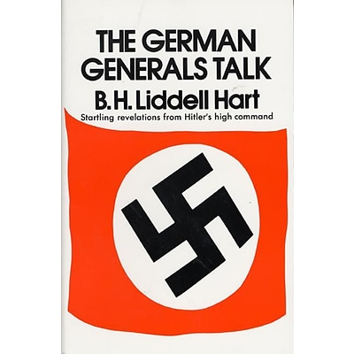 HARPERCOLLINS German Generals Talk Book