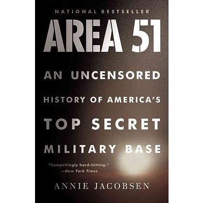 Little Brown & Co Area 51 Paperback Book