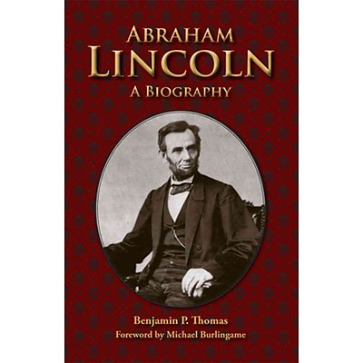 Southern Illinois University Press Abraham Lincoln: A Biography Paperback Book