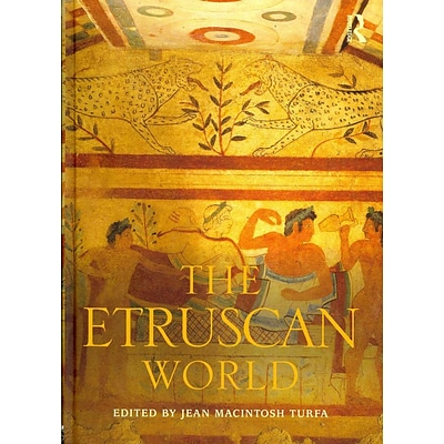 TAYLOR & FRANCIS The Etruscan World Hardcover Book