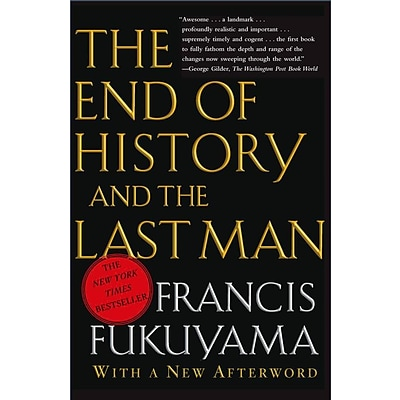 Simon & Schuster The End of History And the Last Man Paperback Book
