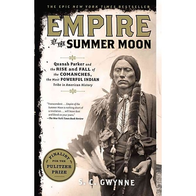 Simon & Schuster Empire of the Summer Moon Paperback Book