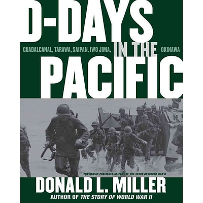 Simon & Schuster D-Days in the Pacific Paperback Book