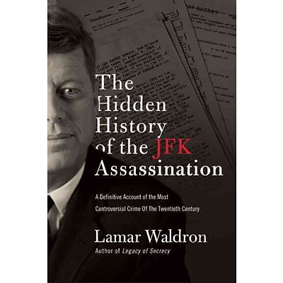 PGW® The Hidden History of the JFK Assassination Hardcover Book