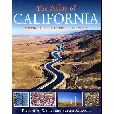 Univ of California Pr The Atlas of California: Mapping the Challenge of a New Era Paperback Book
