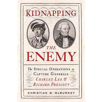 Westholme Publishing Kidnapping the Enemy Hardcover Book