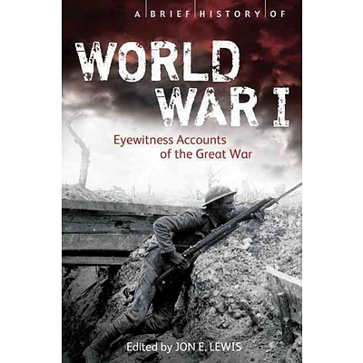 PERSEUS BOOKS GROUP A Brief History of World War I Paperback Book
