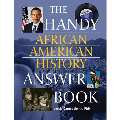 PGW® Handy African American History Answer Book Paperback Book