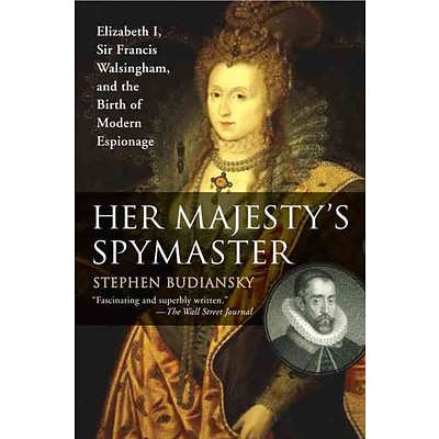PENGUIN GROUP USA Her Majestys Spymaster Paperback Book