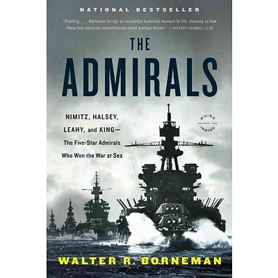 Little Brown & Co The Admirals Paperback Book