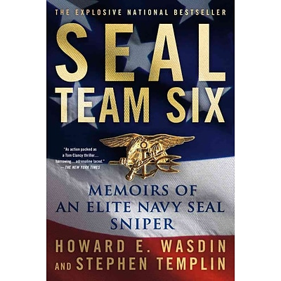 St. Martins Press SEAL Team Six: Memoirs of an Elite Navy SEAL Sniper Paperback Book