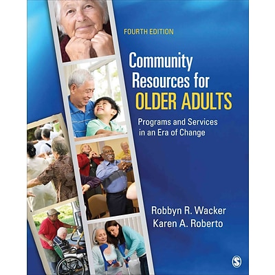 Sage Community Resources for Older Adults Book