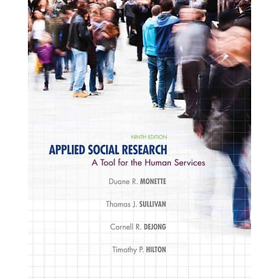 CENGAGE LEARNING® Applied Social Research Book
