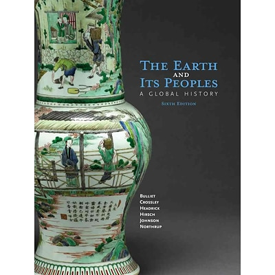 CENGAGE LEARNING® The Earth and Its People Hardcover Book