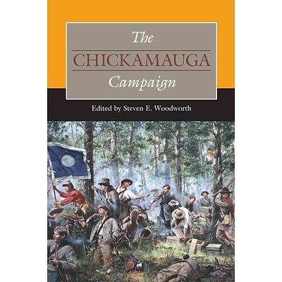 Southern Illinois University Press The Chickamauga Campaign Hardcover Book
