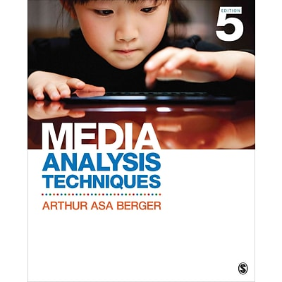 Sage Media Analysis Techniques Book