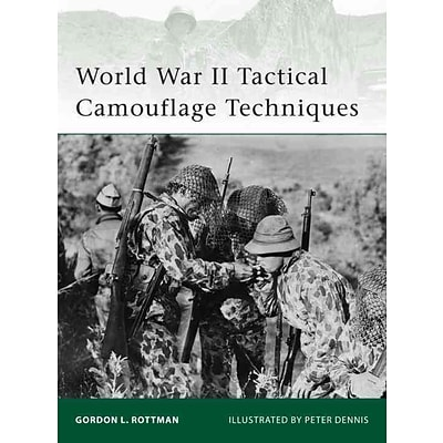 OSPREY PUB CO World War II Tactical Camouflage Techniques Book