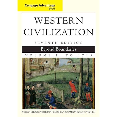 CENGAGE LEARNING® Western Civilization: Beyond Boundaries, Volume I Paperback Book