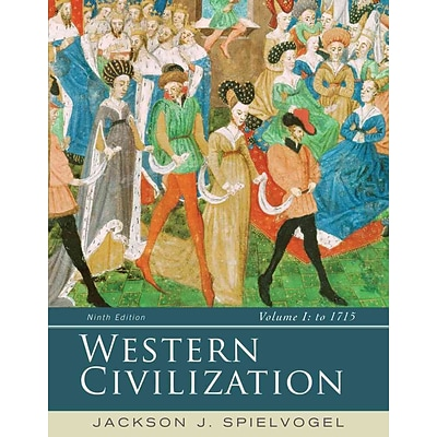 CENGAGE LEARNING® Western Civilization: Volume I: To 1715 Paperback Book