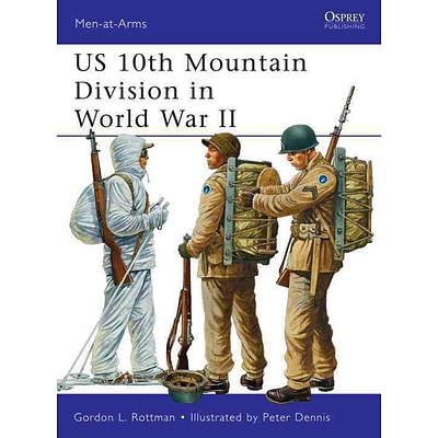 OSPREY PUB CO US 10th Mountain Division in World War II Book