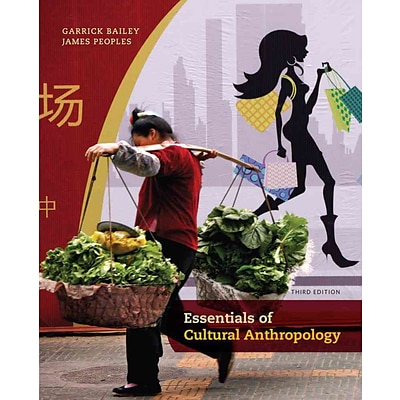 CENGAGE LEARNING® Essentials of Cultural Anthropology Book