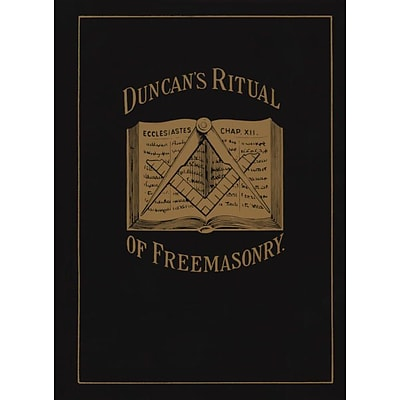 Random House Duncans Ritual of Freemasonry Book