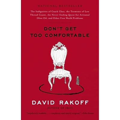 Random House Dont Get Too Comfortable Book