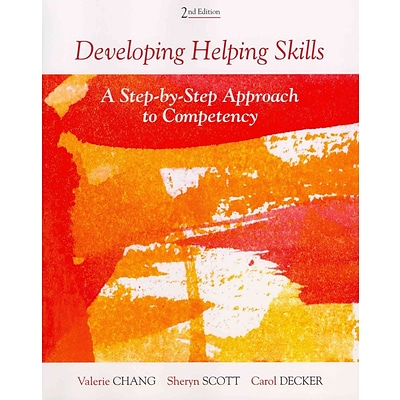 CENGAGE LEARNING® Developing Helping Skills Book